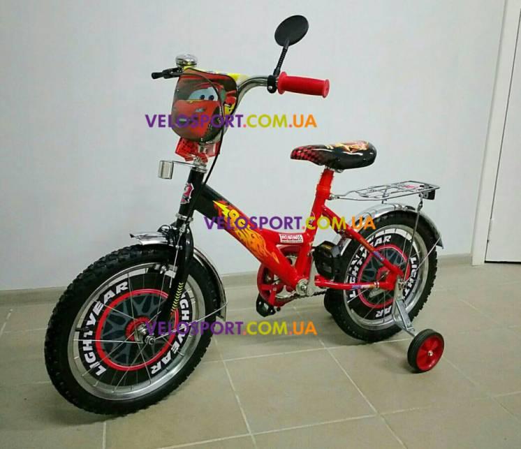 Детский велосипед Mustang Тачки 12 - 20 дюймов для мальчика