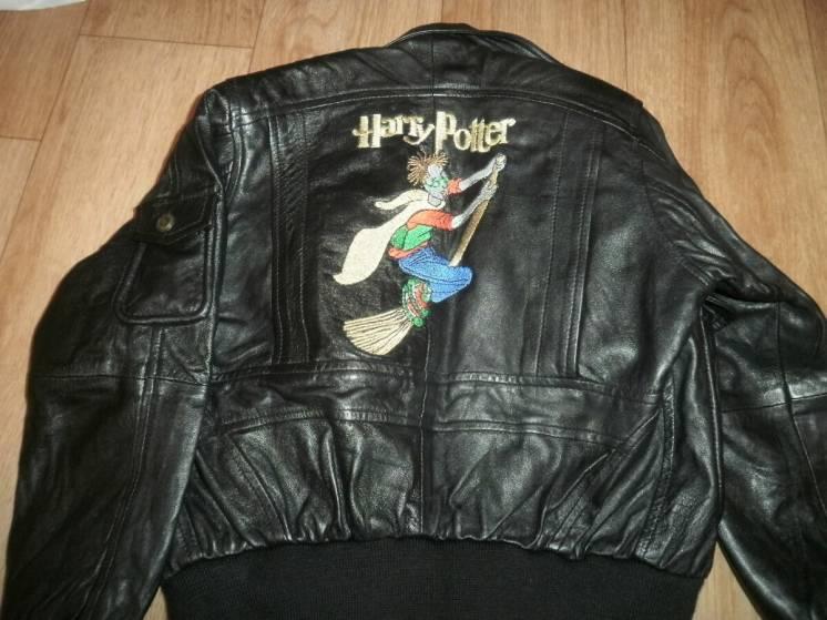 Кожаная куртка Harry Potter на мальчика 4х лет, фирма LIMEKS