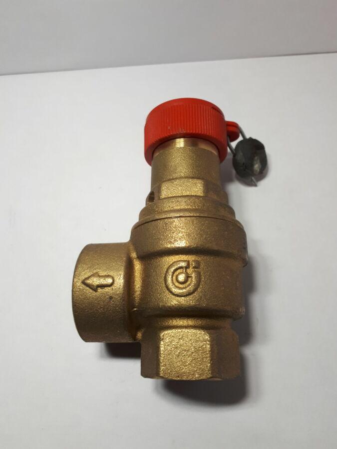 Предохранительный  клапан для отопительных систем ,CALEFFI , Italia