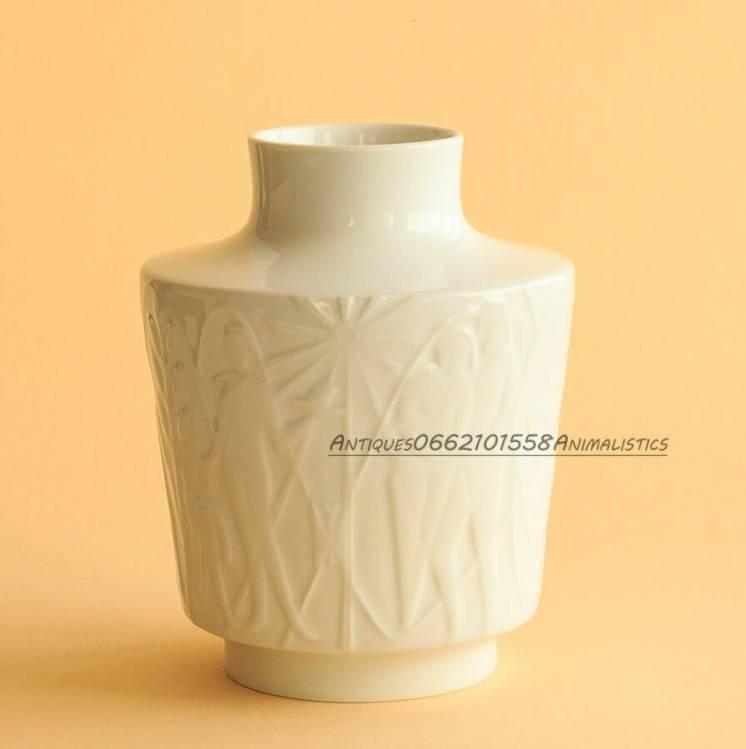 Германия Фарфоровая ваза Edelstein Bavaria дизайнер Kurt Wendl