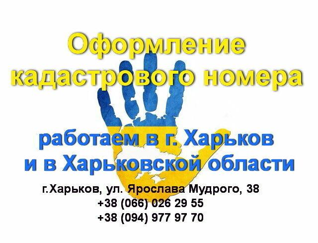 Кадастровый номер на землю, Харьков, ул. Пушкинская