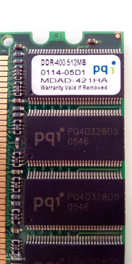 Модуль памяти DDR.