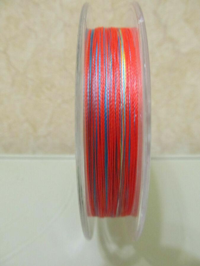 Шнур рыболовный плетня DAIWA цветной мултиколор