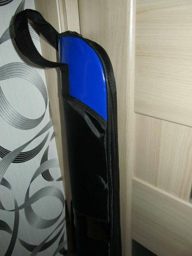 Чехол тубус для удилищ спиннингов полужесткий 130см х12см
