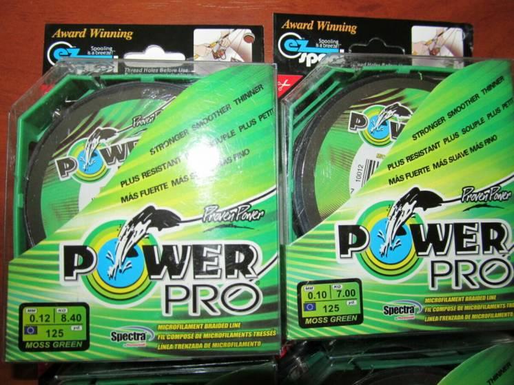 Шнур , нитка Power pro 125м 0.10мм 0.12мм 0.14мм 0.16мм 0.18мм 0.20мм
