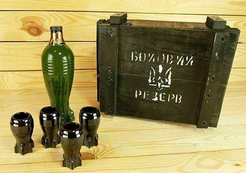 Хит армейский штоф мина подарок военному полицейскому боевой резерв