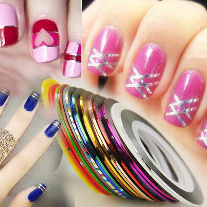 Ленты Линия Nail Art Маникюр наращивание ногтей