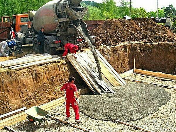 Строительный раствор доставка машины по бетону