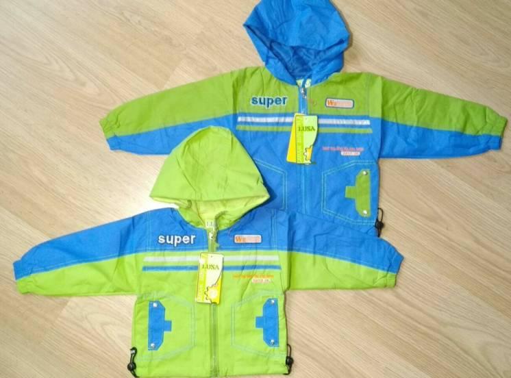 Куртка ветровка на весну 2-5 лет