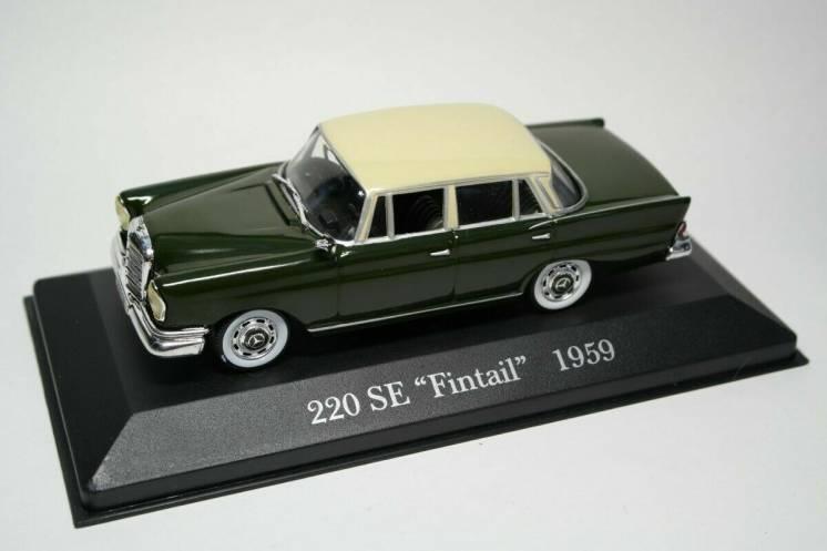 Mercedes-Benz 220SE Fintail (1959)  IXO/Altaya 1/43