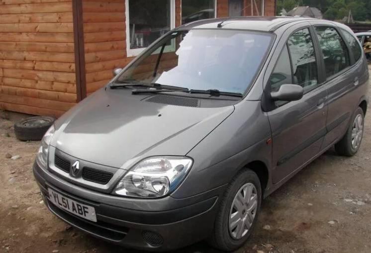 Разборка Рено Renault Scenic 1.9 DTI 2001г. Салон Двигатель КПП