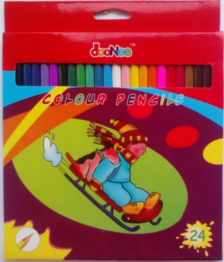 Карандаши цветные DooNee 24цв.