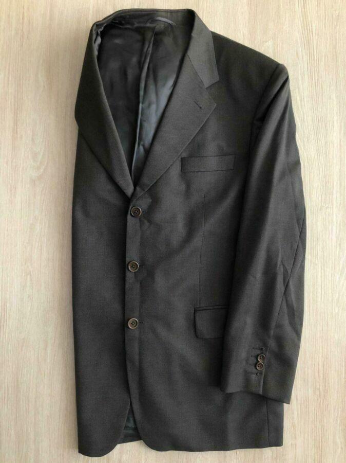 Пиджак темно-серый