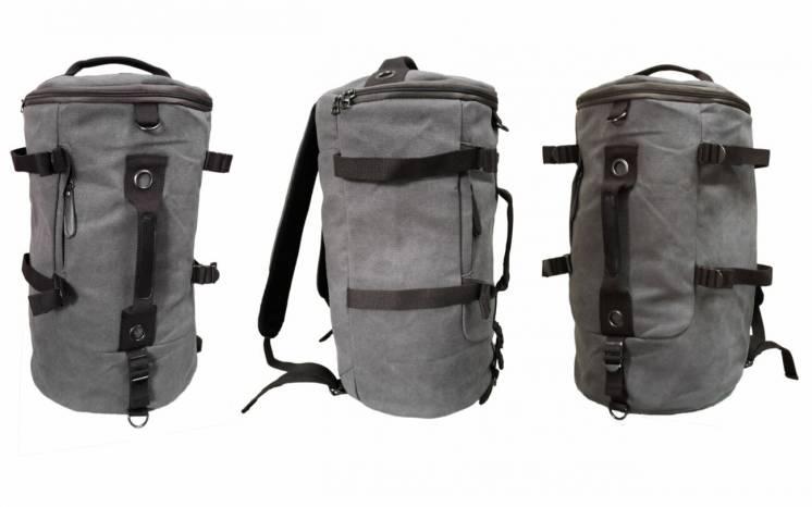 Дорожная спортивная сумка – рюкзак многофункциональная прочная 300D