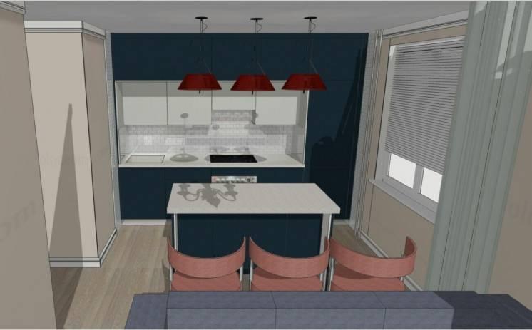 Кухня как конструктор/ проект под ключ подготовлен для заказа на ВиЯр