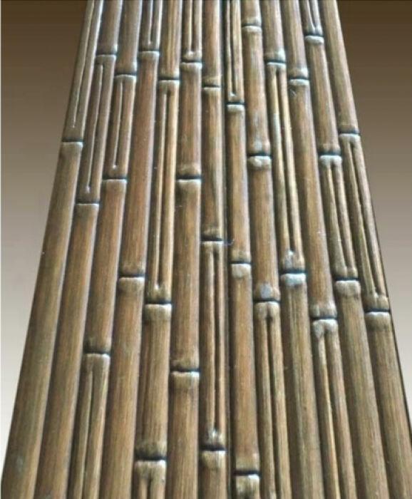 Тисненная вагонка *бамбук* -200 грн м2