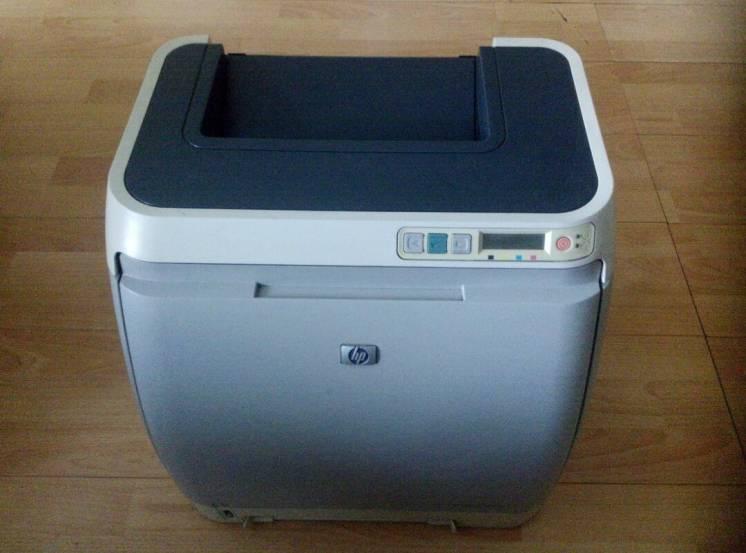 Цветной лазерный принтер HP Color Laser Jet 1600.