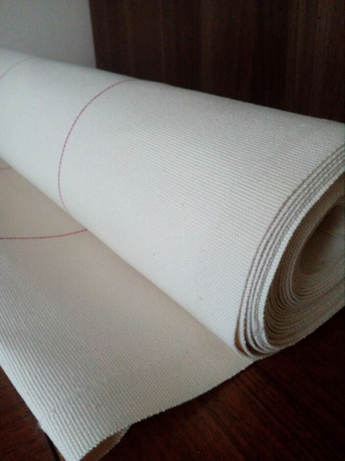 Лента транспортерная. лента 100% хлопок. пищевая ткань.лента тканевая