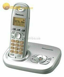 Цифровой радиотелефон с автоответчиком Panasonic Kx-tg7321.#