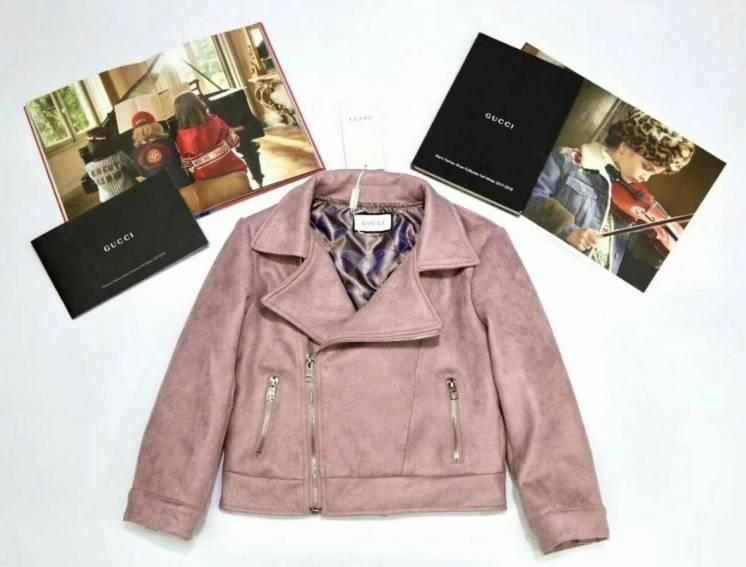 Куртка для девочек косуха Gucci 2-10 лет