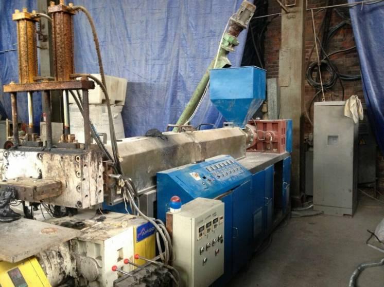Гранулятор двухкаскадный для полимеров