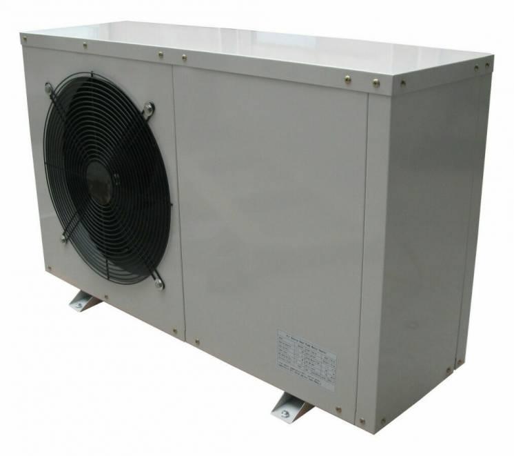 Тепловой насос воздух-вода на 5 кВт для дома. Цену снизил.