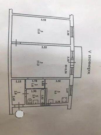 2 комнатная на ул. Гайдара