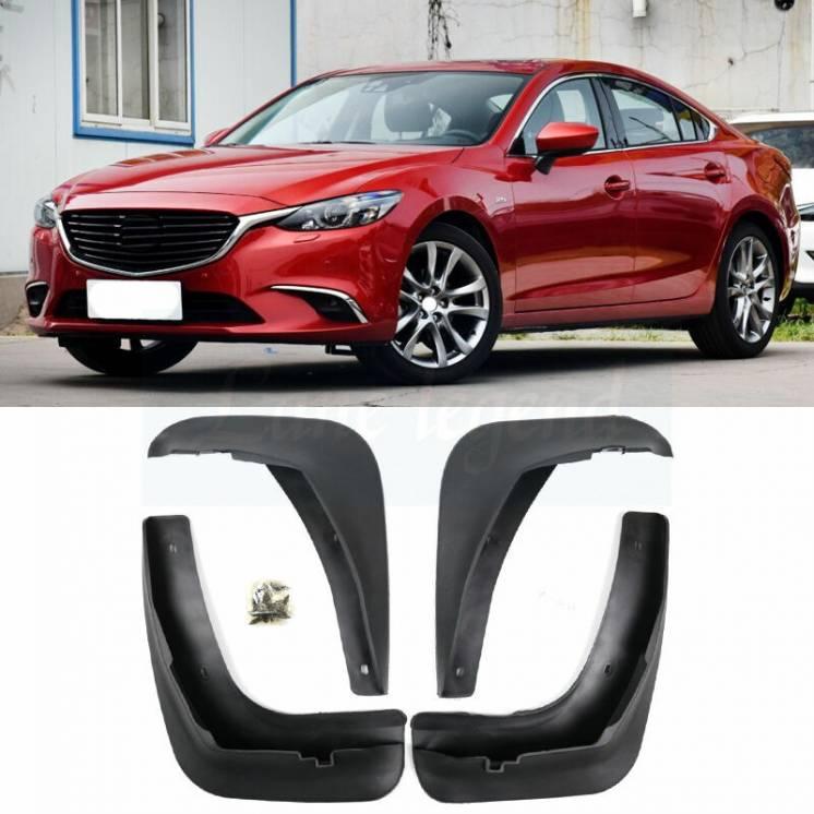 Брызговики Mazda 6 Америка Европа 2013-2018 г.в. GHP9V3450, GHK1V3460