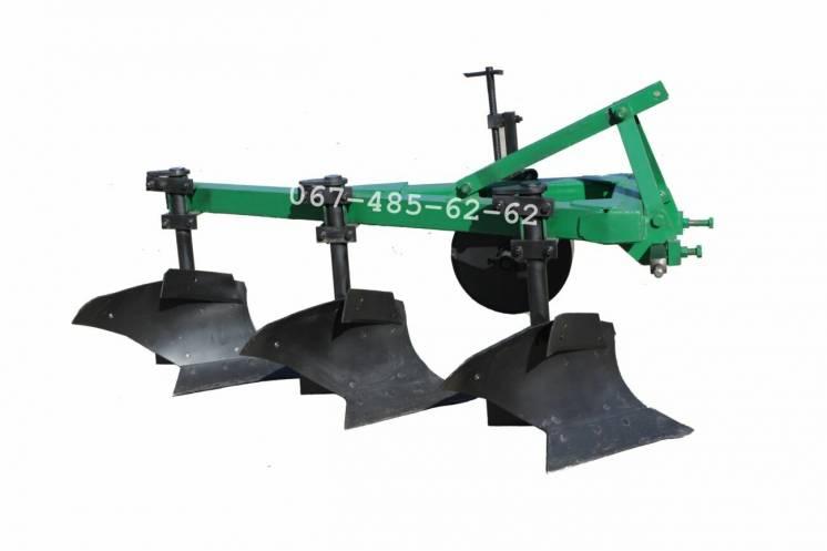 Плуг пбл 3-35 на высоких стойках. одесский завод