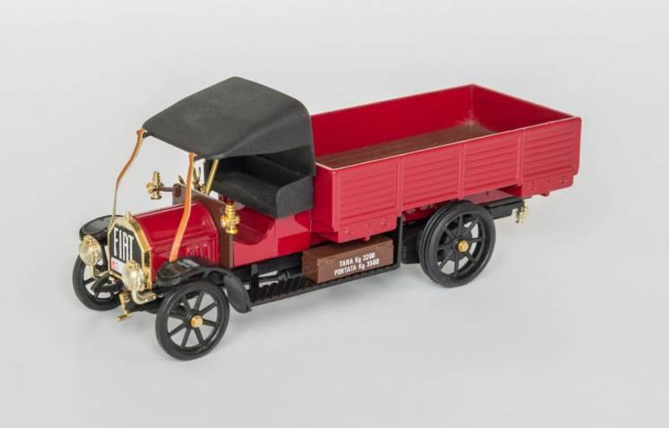 1:43 Fiat Autocarro Civille 18 Bl 1914, Diecast A-4, Rio Italy