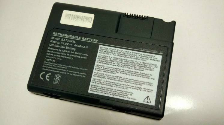 Аккумулятор для ноутбука Acer Bat30n3l