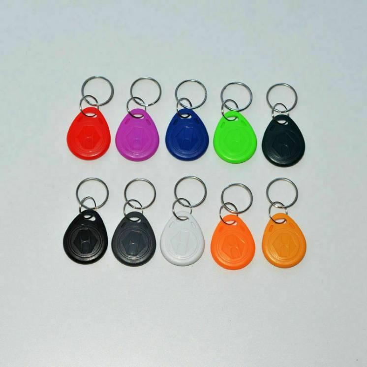 Перезаписываемые RFID ключи 125кгц EM4305/T5577