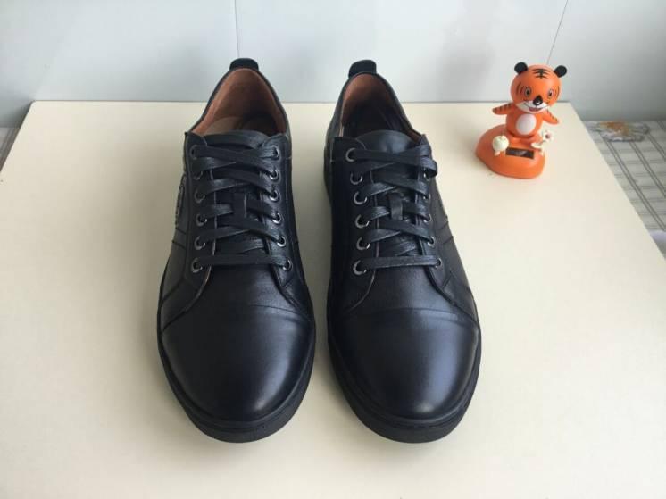Туфли мужские спортивные кожаные Rondo