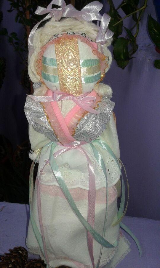 Мотанка Невеста-  стильный подарок.оригинальный сувенир.оберег