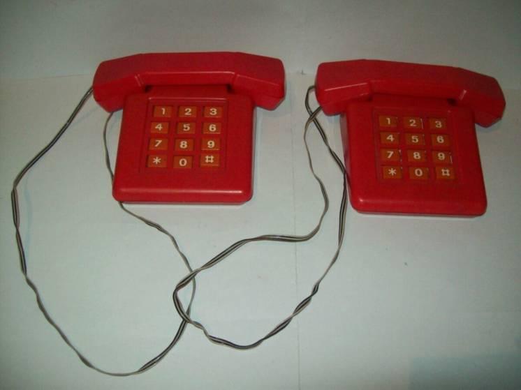 Игрушка телефон про-во ссср