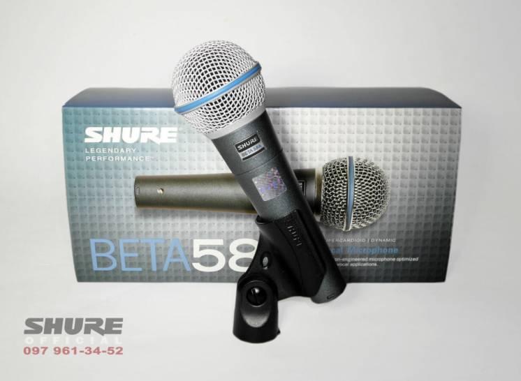 Микрофон Shure Beta 58A (Оригинал-Мексика,на гарантии!)  Вся Украина