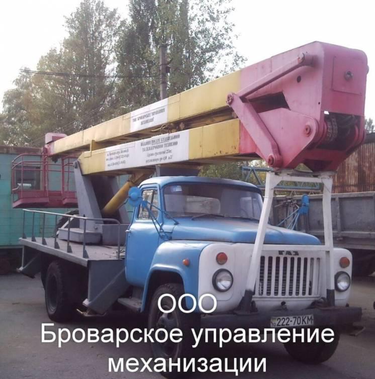 Аренда автовышки Бровары по району Киевская область.