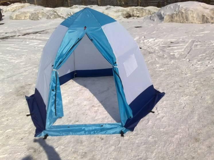 Палатка зимняя зонтик харьковская.