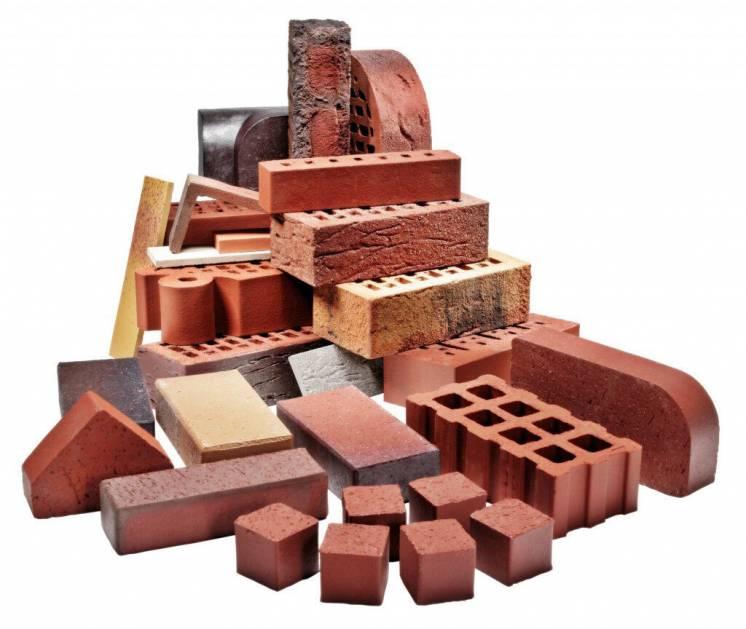 Кирпич керамический, силикатный, шлакоблоки, керамзитоблоки, ракушняк