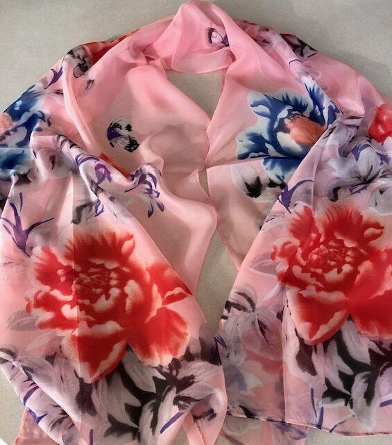 Турмалиновый шарф, косынка