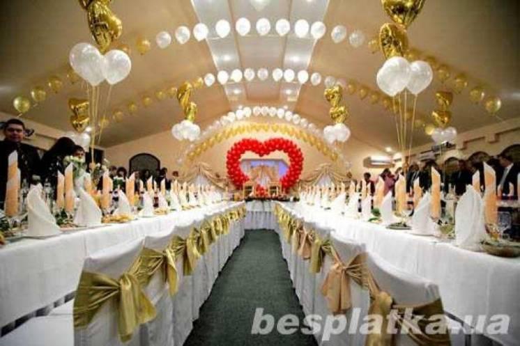 Свадебное оформление залов и открытых площадок