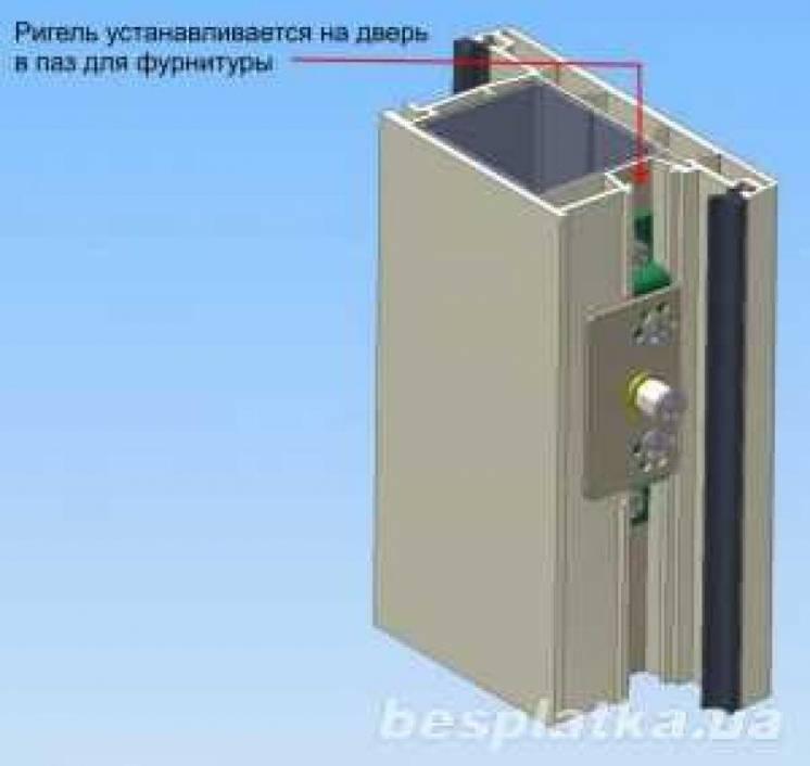 Шериф-5 электромеханический замок для пластиковых дверей и окон