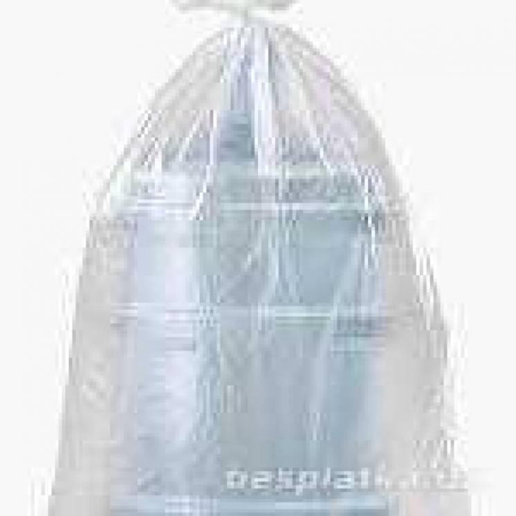 Полиэтиленовые пакеты для бутылей и кулеров  в Киеве от производителя.