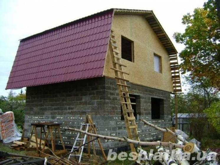 Комплектация кровли и фасадов, монтаж , доставка, утепление, окна