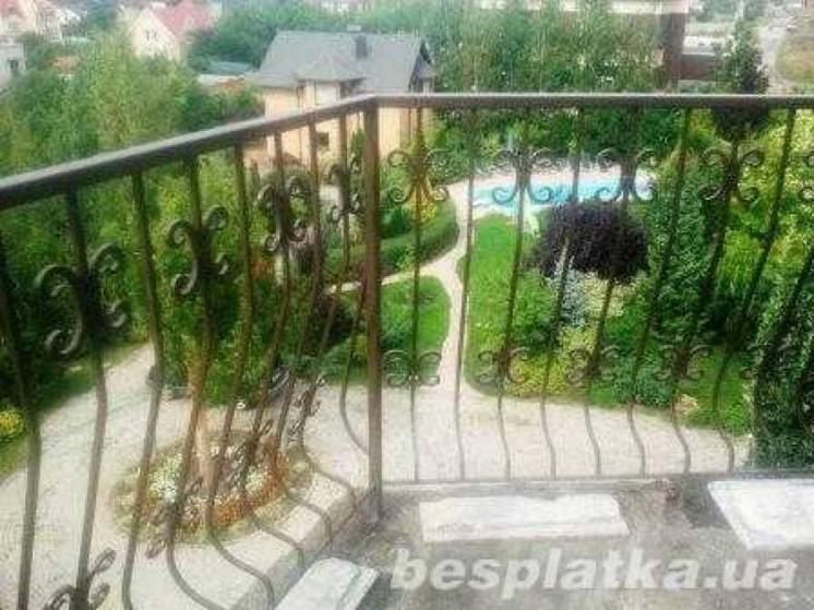 Балконные ограждения, балконні огорожі