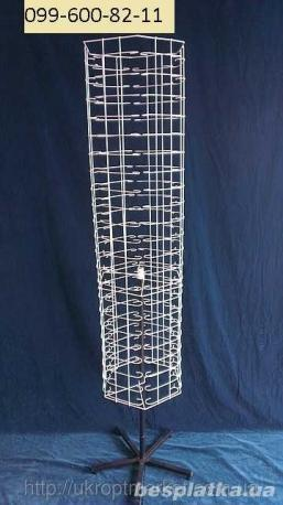 Стойка вертушка напольная шестигранная