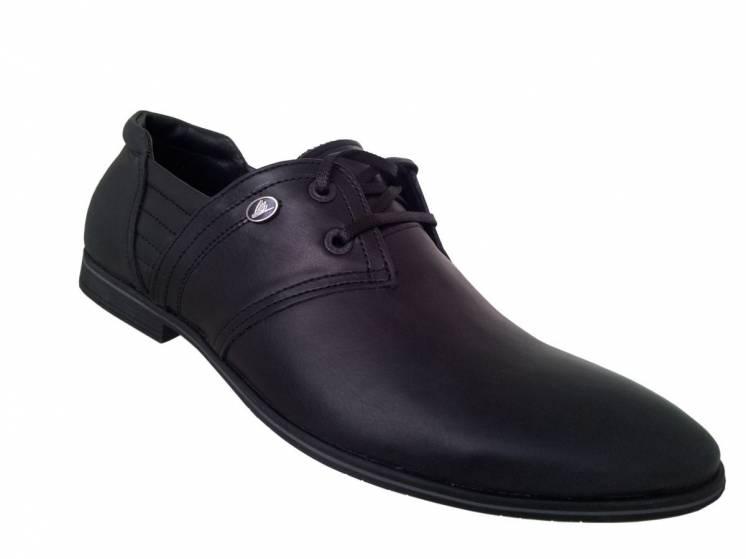 Мужские туфли ADORE 1002-1з натуральная кожа, размеры в наличии