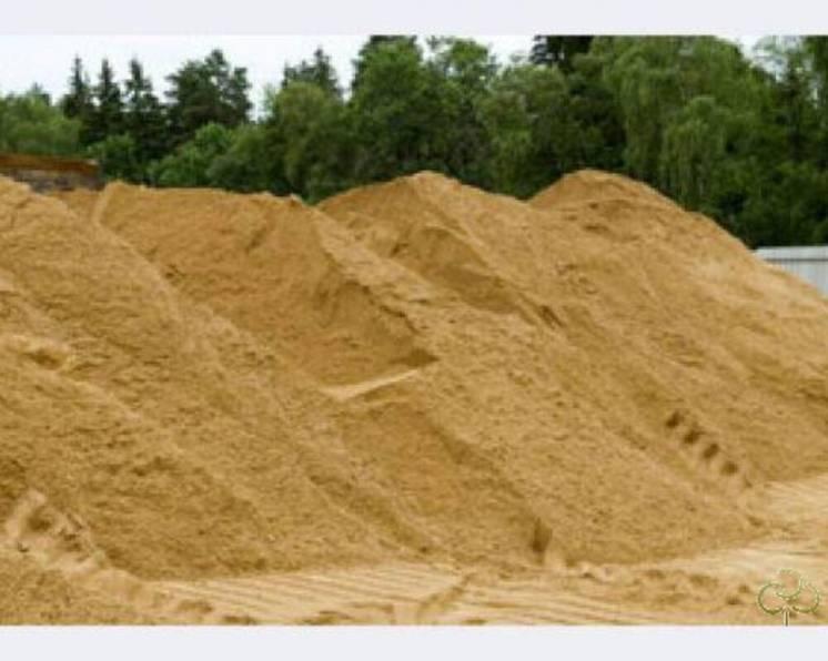 Песок речной, карьерный от 10т.