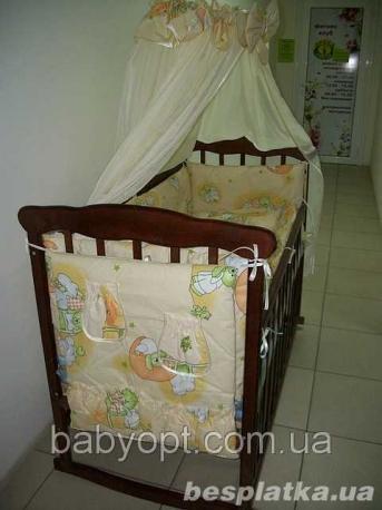 Акция! Кроватка Никитка+матрас кокос+набор постельного