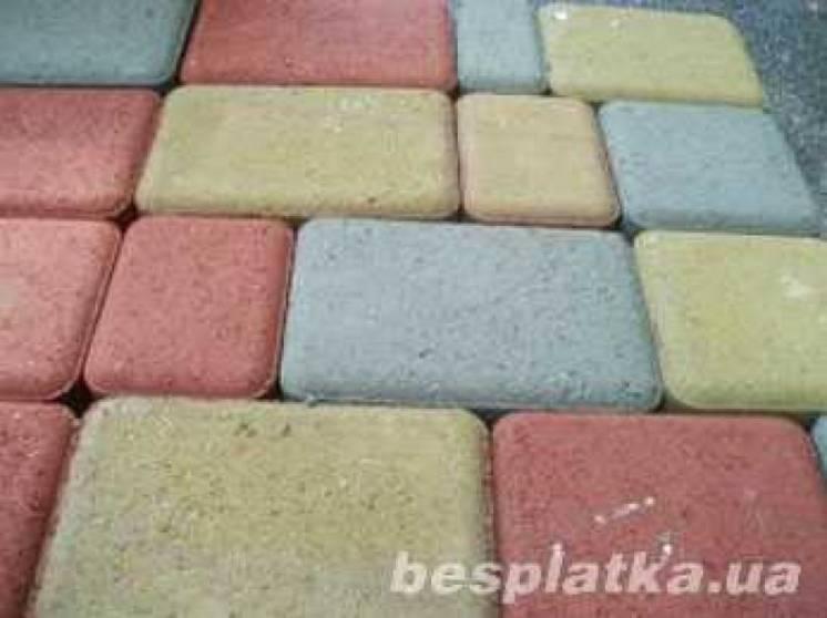 Тротуарная плитка высокого качества. Шлакоблок